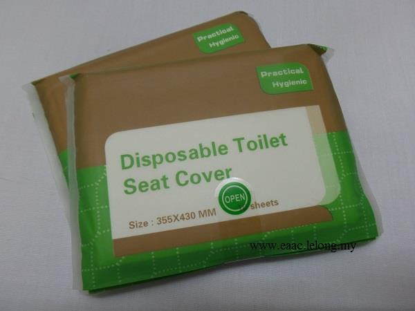 Comfort Plus Hygiene Disposable Toilet Seat Cover Paper 2pck 2x10pcs