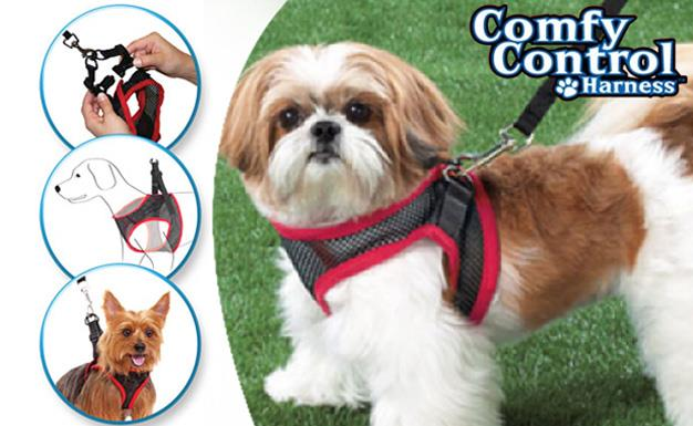 Comfy & Breathable Mesh Dog Harness with FREE Matching Leash Set