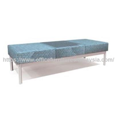 Comfy Office Visitor Backless Sofa Bench Chair OFRT052-3FS subang