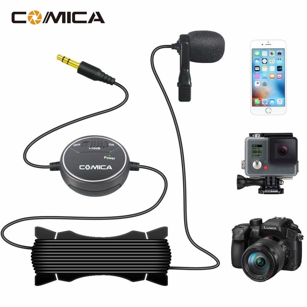 COMICA CVM-V03 Mic Microphone Facebook Youtube LIVE Camera, Gopro and  Smartpho