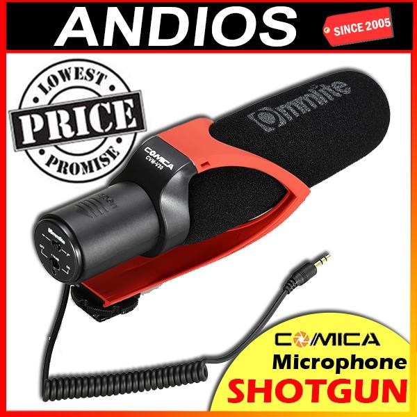 Comica CVM-V30 Audio Interview Shotgun Recording Microphone Mic