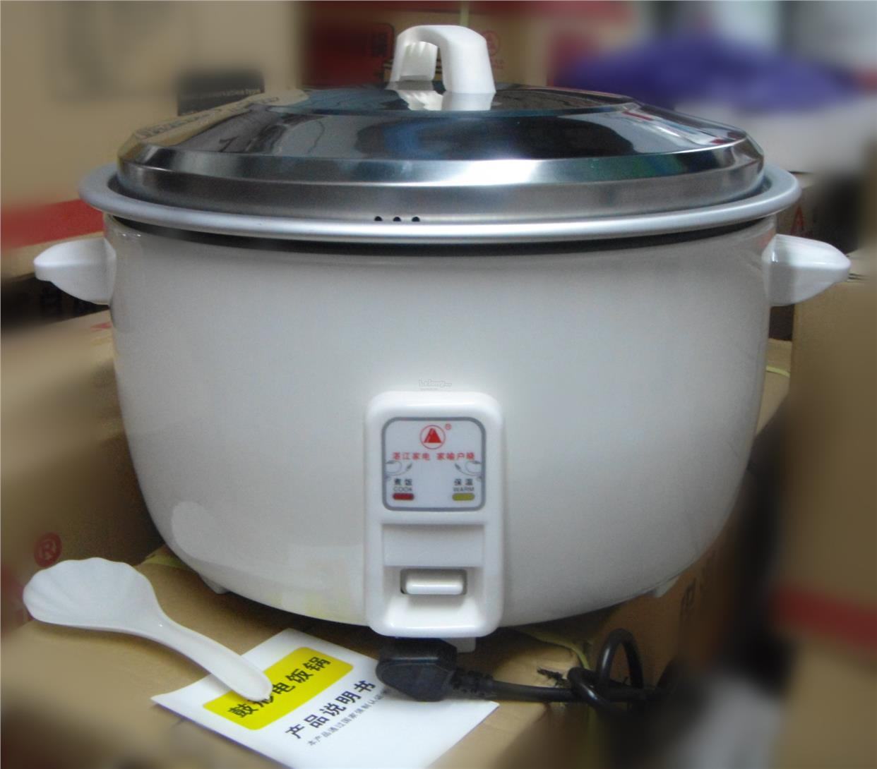 Commercial Electric Rice Cooker with 23L Capacity pot