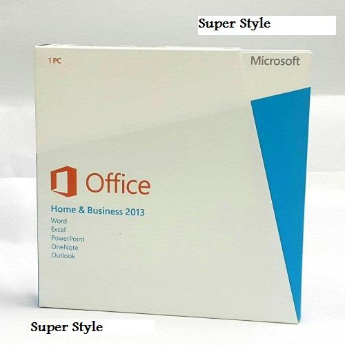 commercial windows microsoft office 2013 home business retail box