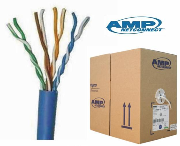 COMMSCOPE AMP CAT6 UTP NETWORK CABLE 305M 1BOX (884022314/10) BLUE