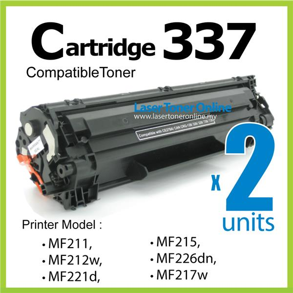 Compatible Canon Cart337/MF229dw MF 211 212w 221d 215 217w 226dn 232w