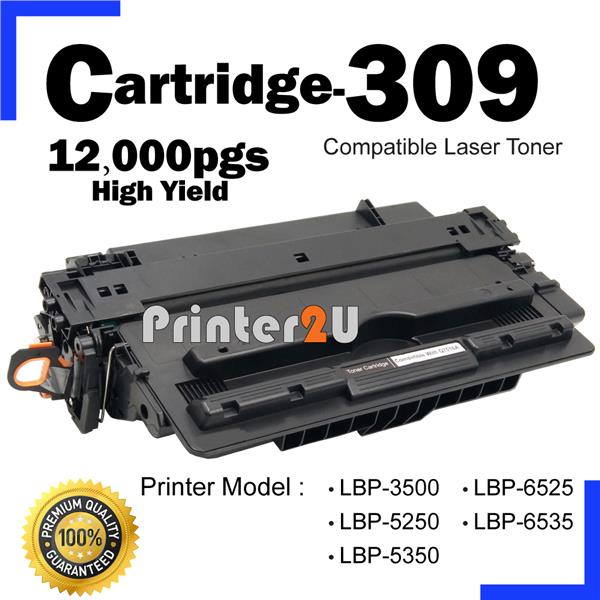 Compatible Canon Cartridge 309 LBP5250 LBP5350 LBP6525 LBP6535 Laser