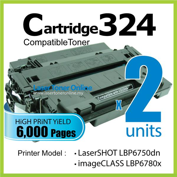 Compatible Canon CRG Cartridge 324/CART324 LBP 6750dn 6780x MF515x