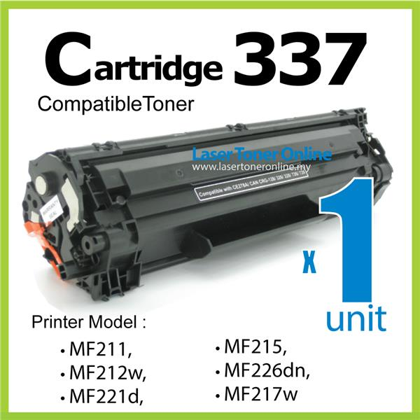 Compatible Canon CRG Cartridge 337 MF212w MF217w MF221d MF226dn MF232w