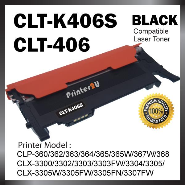 Compatible CLT-406S Black Color CLP-360 362 363 364 365 365W 367W 368