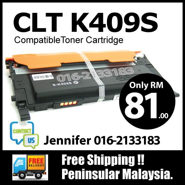 Compatible CLT-K409S 409 CLP-315 310N 3170FN 3175N Black Laser Printer