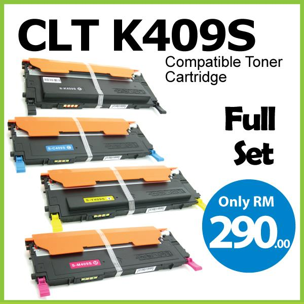 Compatible CLT-K409S Color CLP315 CLP310N CLX3170FN CLX3175N Printer