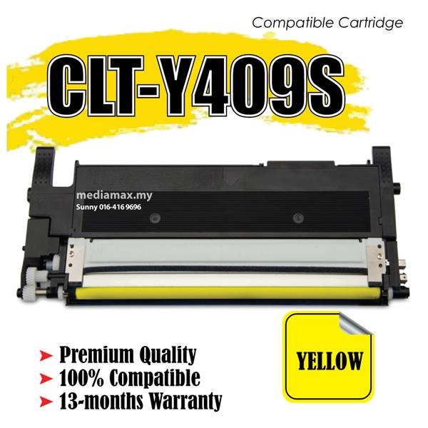 Compatible CLT-Y409S CLP-315 310N 3170FN 3175N Yellow Laser Printer