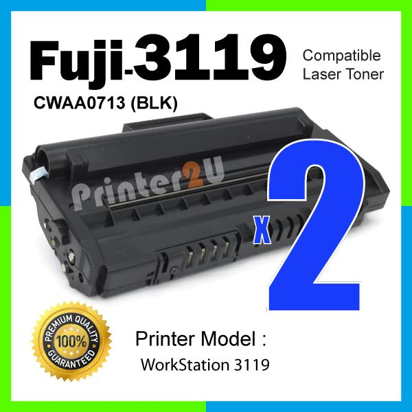 Compatible Fuji Xerox 3119 WorkCentre Work Centre/Black/BK Laser Toner