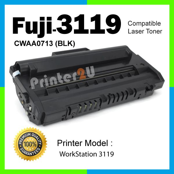 Compatible Fuji Xerox 3119 WorkCentre Work Centre Black/BK Laser Toner