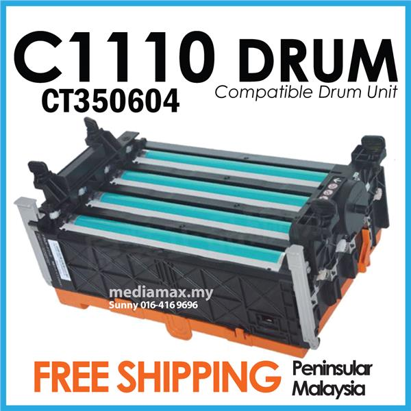 Compatible Fuji Xerox C1110 C1110B C2120 Laser Drum Unit Kit CT350604