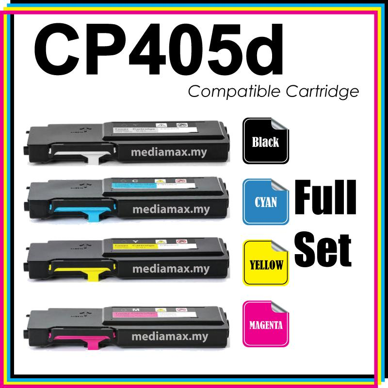 Compatible Fuji Xerox CP 405 405d CM 405 405df Color Laser Toner Full