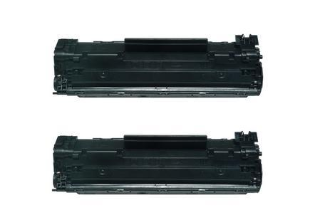 Compatible HP CE285A 85A CE285 Toner Cartridge 2 Pack