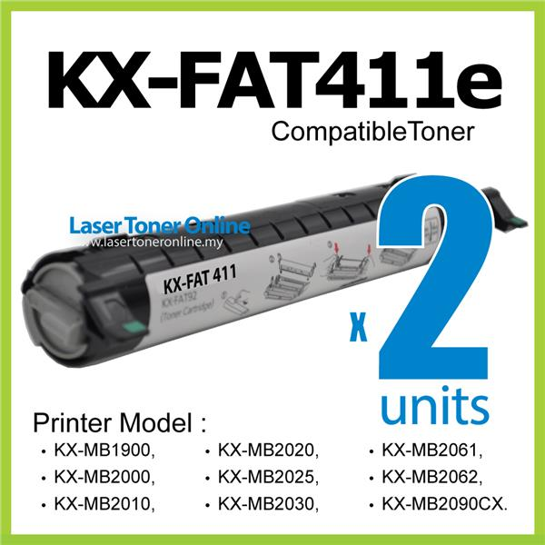 Compatible Panasonic KX-FAT411 FAT411e KX-MB2001 MB2011 MB2025 411E