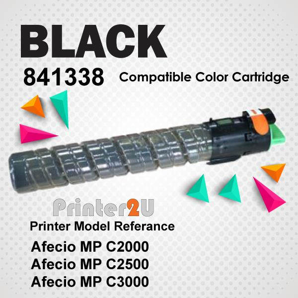 Compatible Ricoh Aficio Black Toner Cartridge MPC2000 MPC2500 MPC3000