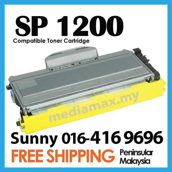 Compatible Ricoh Aficio SP 1200 1210N 1200S 1200SF Laser Printer Toner