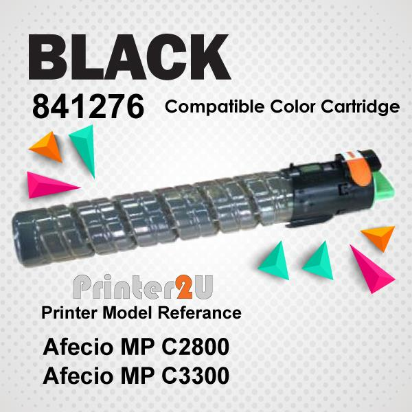Compatible Ricoh Black Photostat Toner MPC2800 MPC3300 MP C2550 C3300