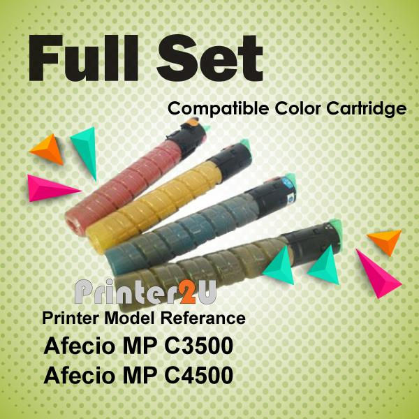 Compatible Ricoh Color Photostat Toner MPC3500 MPC4500 MP C3500 C4500