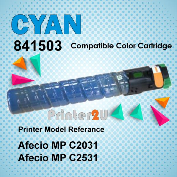 Compatible Ricoh Cyan Photostat Toner MPC2031 MPC2531 MP C2031 C2531