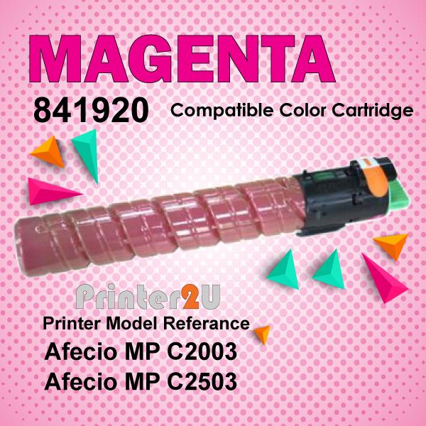 Compatible Ricoh Magent Photostat Toner MPC2003 MPC2503 MP C2003 C2503