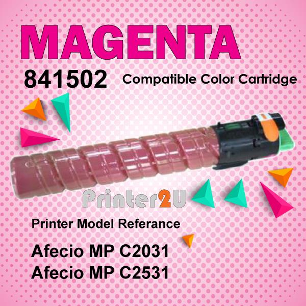 Compatible Ricoh Magent Photostat Toner MPC2031 MPC2531 MP C2031 C2531