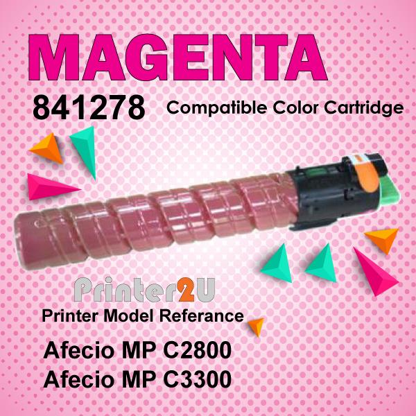 Compatible Ricoh Magent Photostat Toner MPC2800 MPC3300 MP C2550 C3300