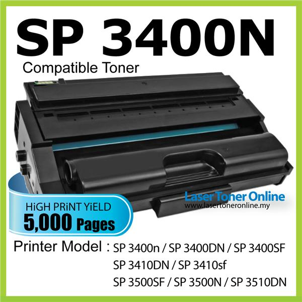 Compatible Ricoh SP3400HS SP3400SF SP3400dn SP3400SF 3400N SP3410DN