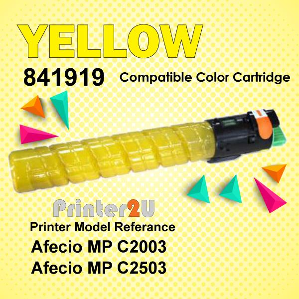 Compatible Ricoh Yellow Photostat Toner MPC2003 MPC2503 MP C2003 C2503