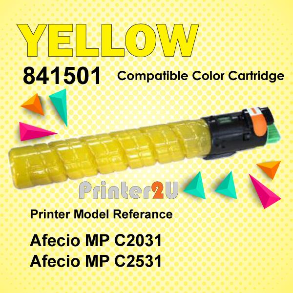 Compatible Ricoh Yellow Photostat Toner MPC2031 MPC2531 MP C2031 C2531