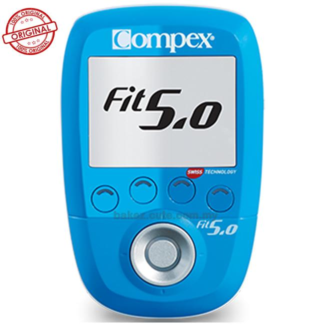 Compex FIT 5.0 Fitness Electric Muscle Stimulator – Warranty-2+1Year