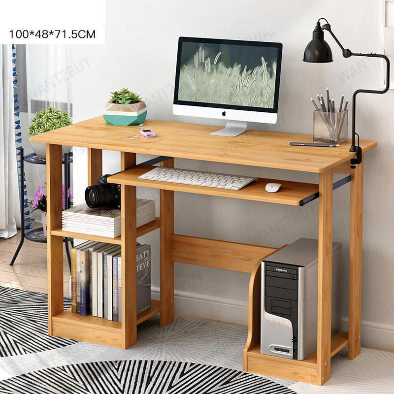 Computer Laptop Study Desk Table Meja Belajar Meja Tulis