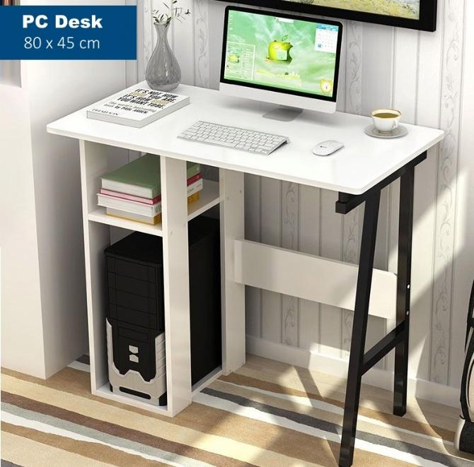 Computer Pc Desk Table White 80cm