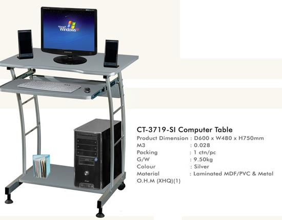 Computer Table (CT-3719-SI)
