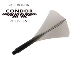 CONDOR Flight ZERO STRESS - Diamond Shape - Size S [Clear Black]