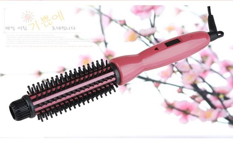 CONELL Auto Rotating Ceramic Comb Curler(Warranty 1 Month)