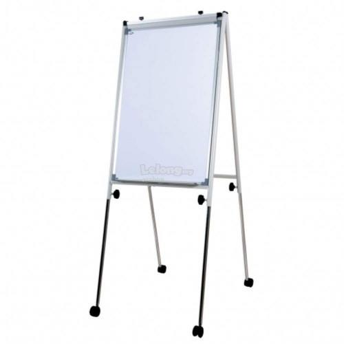 Conference Flip Chart FC23R - 111-198H x 66W x 61-98D - White (G05-22)