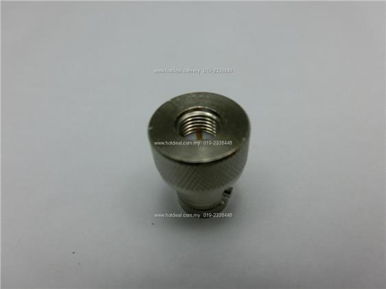connector antenna BNC to SMA male (thick)