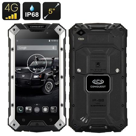 Conquest S6 Rugged Phone (4G/3G/2G) (WP-S6C).