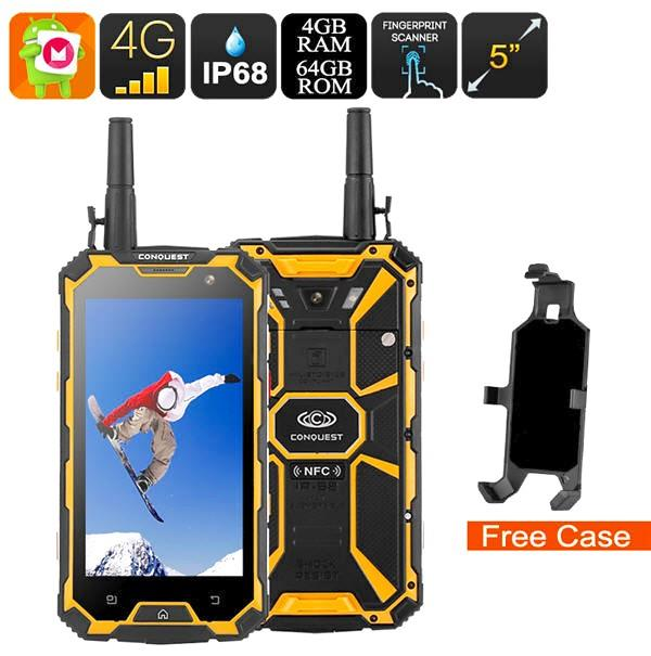 Conquest S8 Rugged Octa Core Smartphone (WP-S8).