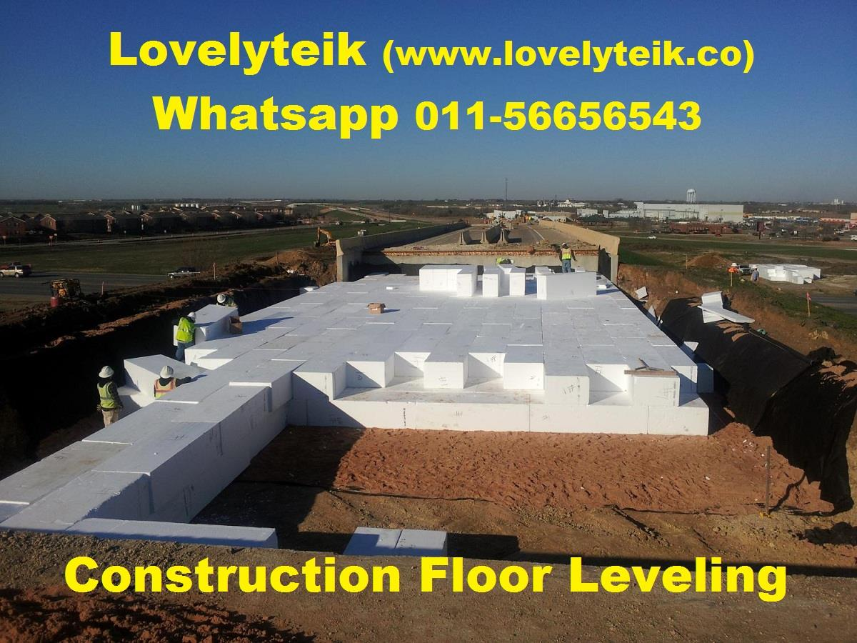 Construction Polyfoam Floor leveling Polystyrene Sculpting Decoration