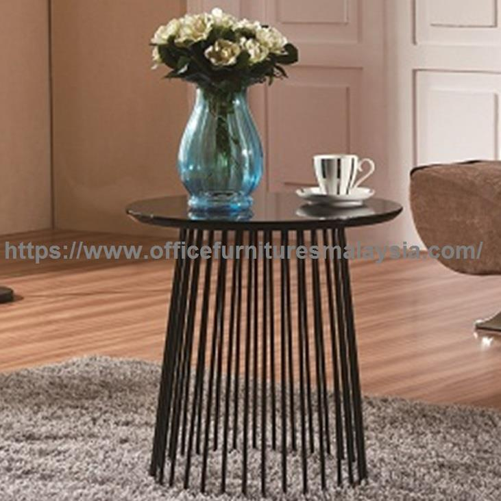 Contemporary Oval Coffee Table YG-T1210B/W/R/Y sunway damansara usj
