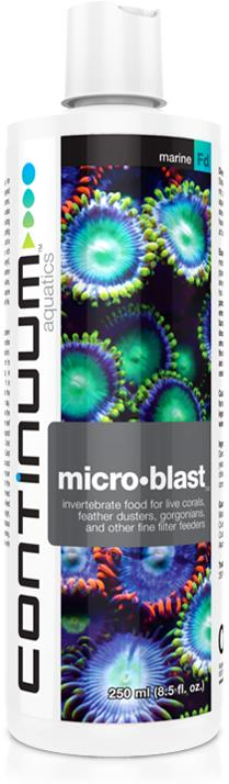 Continuum Micro Blast (Invertebrate Food For Filter Feeders) 250ml