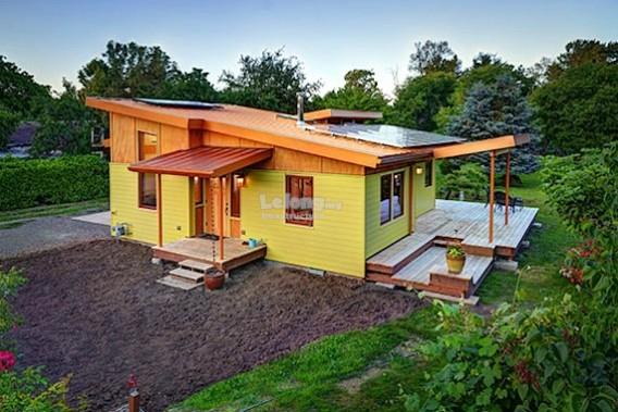 Contractor Build House By Using Modular Box Structure
