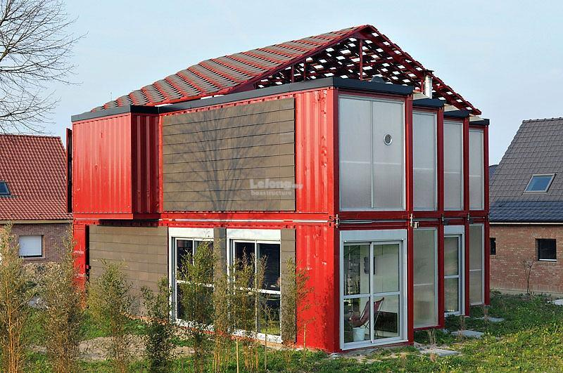 Contractor Build House By Using Module House System