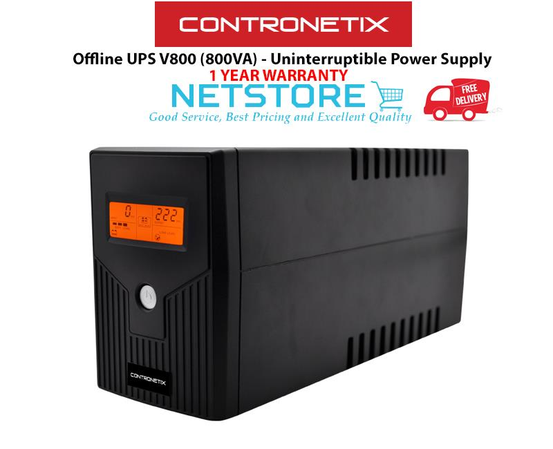 Best Uninterruptible Power Supply 2020 Contronetix Offline UPS V800 (800VA) (end 1/8/2020 10:15 AM)