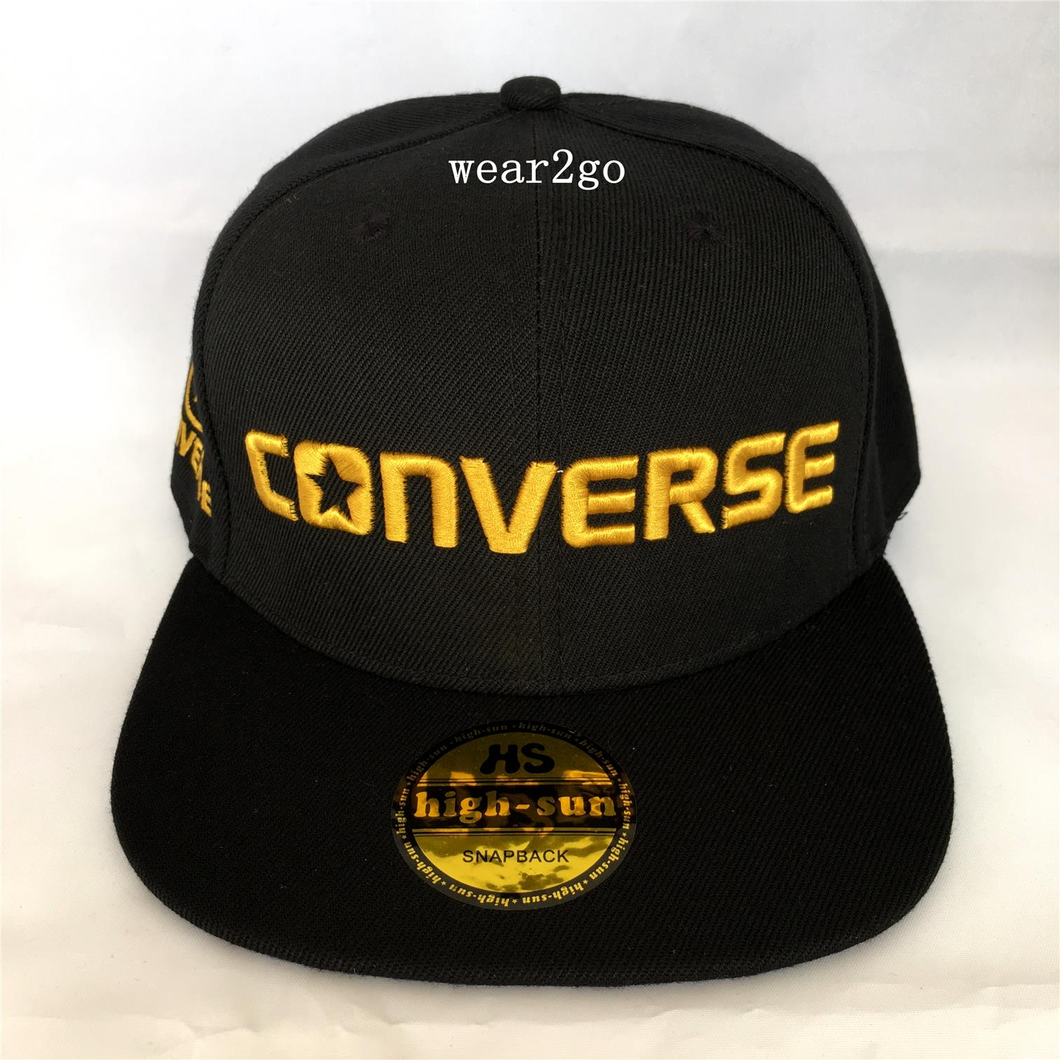 CONVERSE (4) Snapback Cap in Black C (end 5 17 2018 3 15 PM) 72827631282